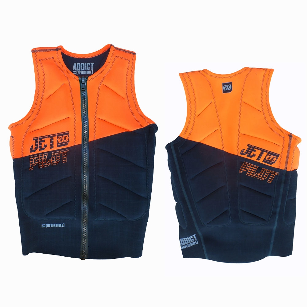 Jetpilot Elite Reversible Zip Black/Orange 2017