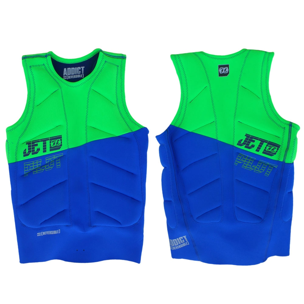 Jetpilot Elite Reversible Navy /Green 2017