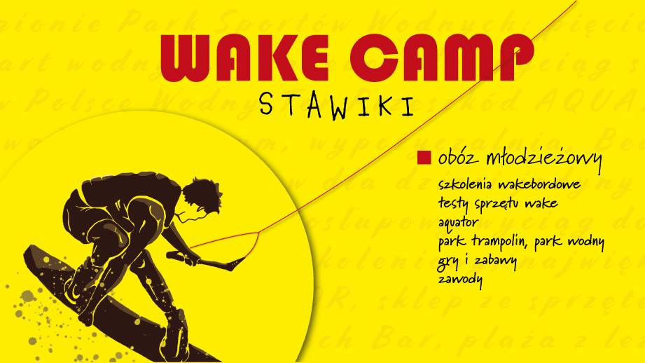 plakat wake camp stawiki 2019